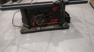 Craftman Table saw $70 for Sale in Edison, NJ