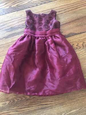 Little girls maroon dress for Sale in Grand Junction, CO