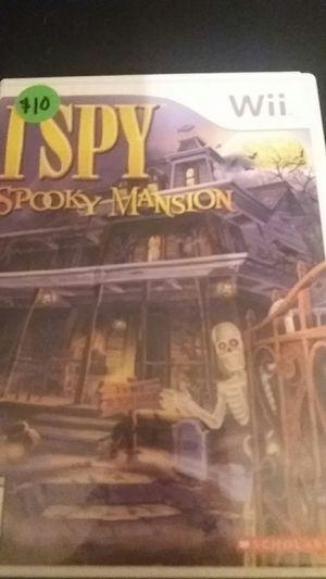 ISPY Spooky Mansion (Nintendo Wii + Wii U) for Sale in Lewisville, TX