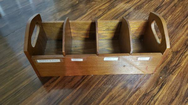 Cute Antique wood holder