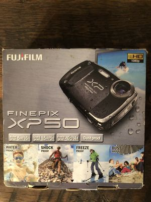 FujiFilm Finepix XP50 waterproof digital camera for Sale in Huntsville, AL