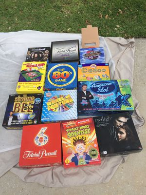 Games and puzzles for sale for Sale in Clermont, FL