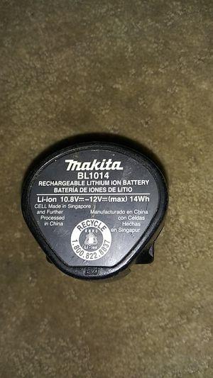 Makita BL1014 Power Tool Battery for Sale in Jurupa Valley, CA