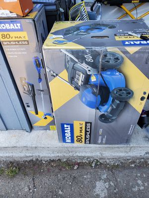 80volt kobalt brushless mower (NEW) for Sale in Bremerton, WA