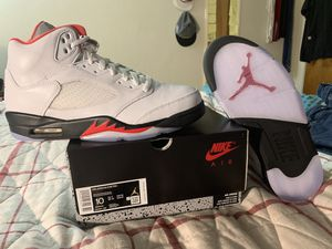 Air Jordan 5 retro Fire Red (2020) size 10 for Sale in National City, CA
