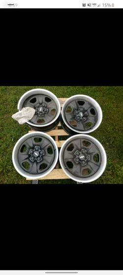 18 inch camaro rally wheels/rims for Sale in Hazel Park,  MI