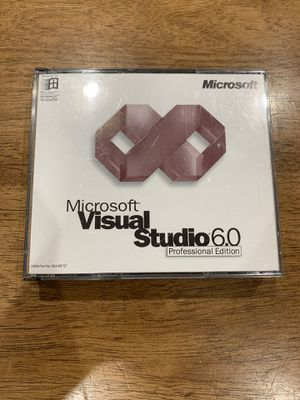 Microsoft Visual Studio Professional 6.0 Professional Edition for Sale in Fremont, CA