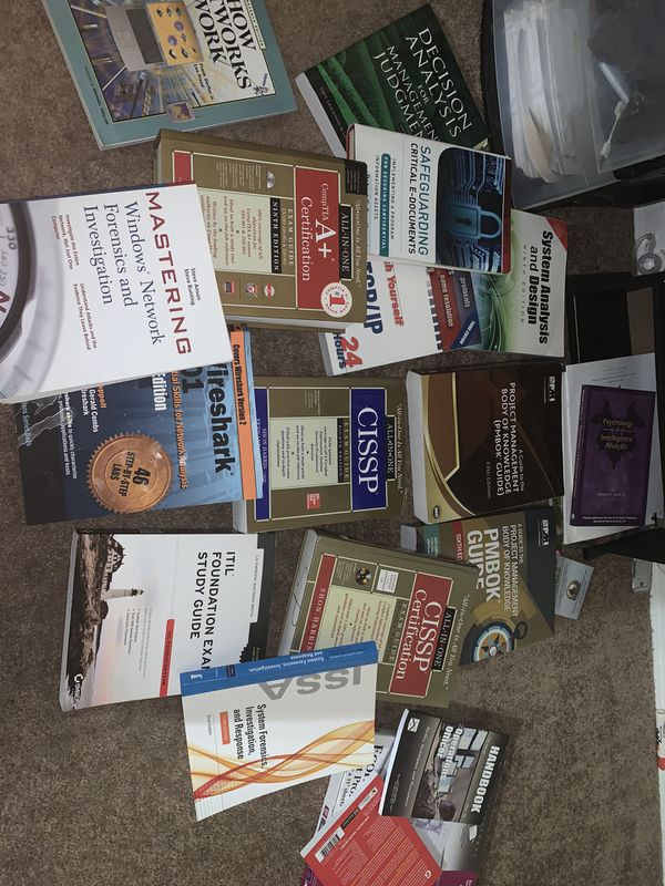 IT Books- all prices negotiable - Pick one or all