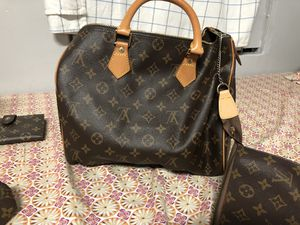 Louis Vuitton female desert boots suede with black Miami patch on both boots excellent condition barely worn 3louie Vuitton female bags brown and sue for Sale in New York, NY