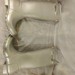 Women's Original Tall Cosmic Glitter Rain Boots: Silver for Sale in Los Angeles, CA