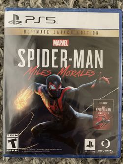 Ps5 Spider-Man Miles Morales Ultimate Edition  for Sale in Fontana, CA