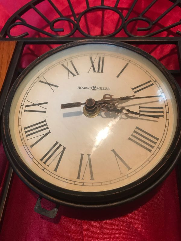Howard Miller Clock $75