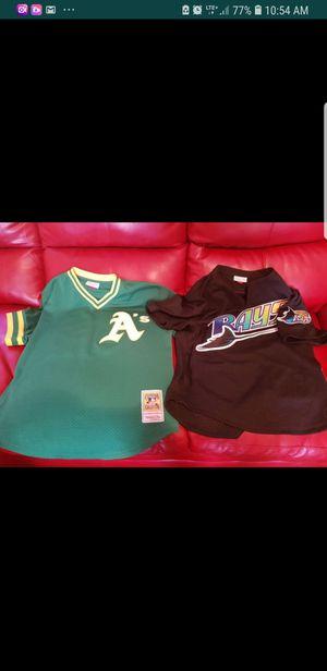 Batter cage baseball jerseys..50 apiece..2 for 90 for Sale in Philadelphia, PA