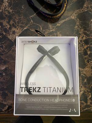 Trekz titanium bone conduction headphones for Sale in Miami, FL