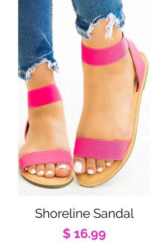 Sandals neón pink💗 for Sale in San Bernardino, CA