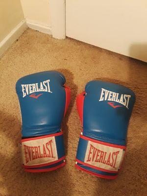 Everlast boxing gloves for Sale in Alexandria, VA