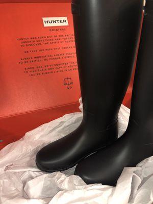 💯 authentic hunter rain boots for Sale in San Francisco, CA