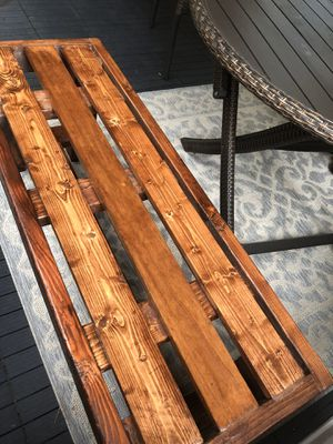 Farmhouse bench for sale - New for Sale in Cumming, GA