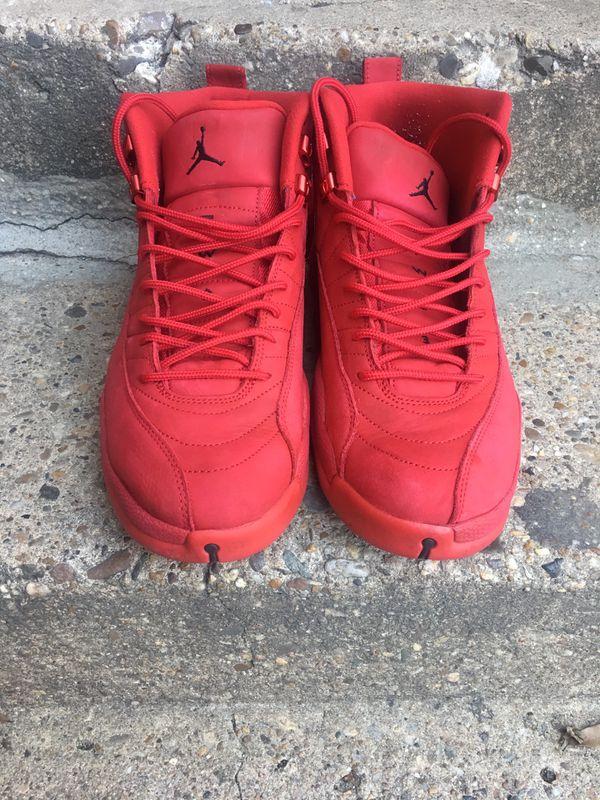 "Jordan retro 12s ""gym red"" size 11.5"