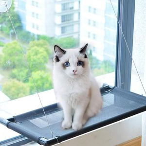 window cat perch can hold a maximum load of 22kg. Wires used in engineering this suspension product provides resistance to bite. Size 67x40cm for Sale in Ontario, CA