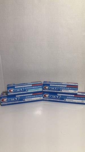Crest Pro-Health Toothpaste - 4 Pack for Sale in Burton, OH