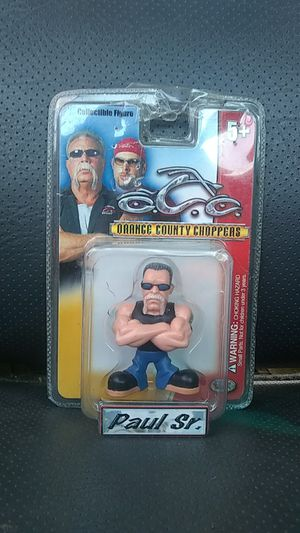 Orange County Choppers collectible figure Paul Sr. for Sale in Lodi, CA