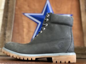 Tmberland 6 inches of Timberland 6-INCH PREMIUM BOOTS Timberland boots men A1UFH W Wise dark gray [9/7 Shinnyu load] side 9 mens for Sale in Grand Prairie, TX