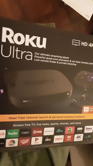 Roku ultra 《still in box with unbroken seal 》¡¡ for Sale in Kent, WA