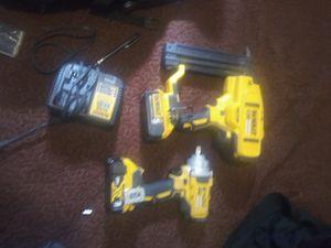Dewalt nail gun and half in inpact for Sale in Murray, UT