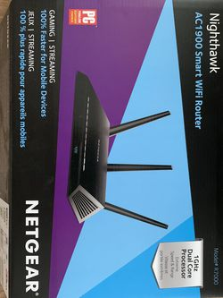 Netgear Nighthawk WiFi Router AC 1900 R7000 for Sale in Virginia Beach,  VA