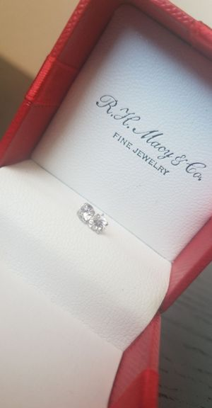 R.H. Macy & Co. Diamond Stud Earrings for Sale in Plano, TX