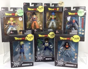 Variety of NEW DragonBall Collectible Anime Action Figures for Sale in Auburn, WA