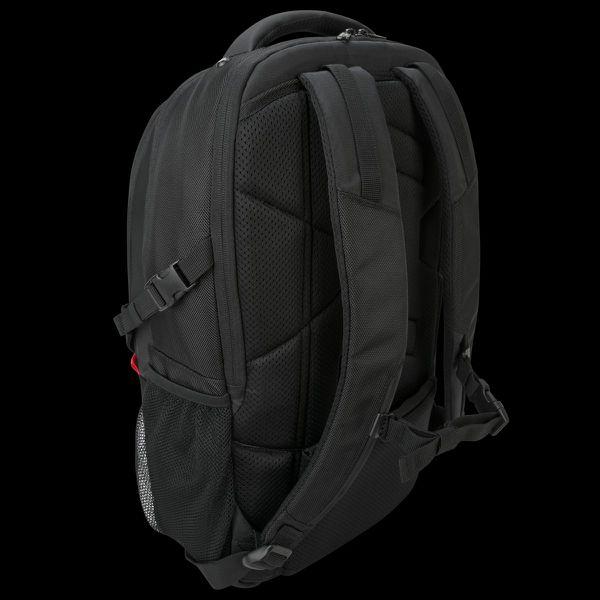 Targus Strike Gaming - Laptop carrying backpack 17.3-inch - Black/Red