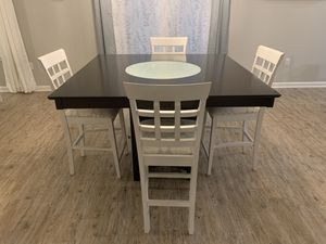 Dining Set w/ Lazy Suzan for Sale in Pensacola, FL