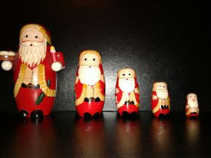 Santa Claus Matryoshka Set for Sale in Montgomery Village, MD
