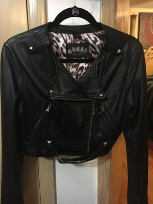 Genuine leather crop jacket for Sale in Norridge, IL