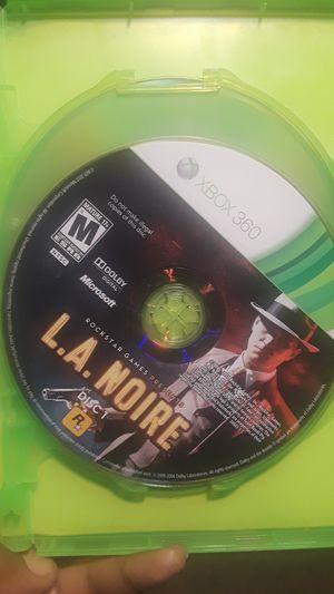 LA Noire tri-disc (Xbox 360 game) for Sale in Marietta, GA