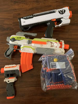 Nerf guns and brand new bullets for Sale in Rossmoor, CA