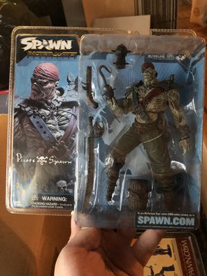 Spawn Serious 21 Pirate Spawn - Alternate Reality Action Figure McFarlane Toys for Sale in Brooklyn, NY