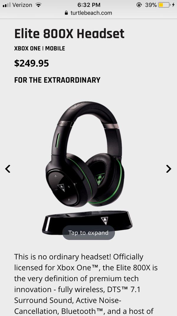 Turtle Beach Elite 800X Gaming Headset/Headphones
