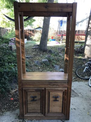 Wooden bookshelf for Sale in Arvada, CO