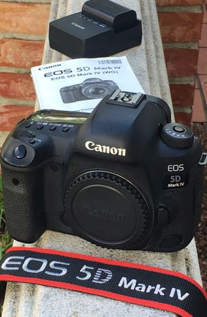 Canon 5D Mark IV DSLR Body - EXCELLENT for Sale in Pembroke Pines, FL