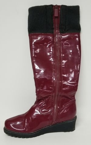 Michael Kors Boots Size 4 Lone Burgundy Red Women Shoes for Sale in Bradbury, CA
