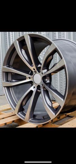 """Bmw X5x6 Gunmetal 20"""" Rims Set for Sale in Hayward,  CA"""