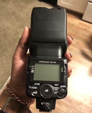 700 AF Speedlight Flash for Nikon Digital SLR Cameras for Sale in El Paso, TX