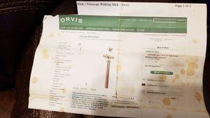 Telescope Walking Stick for Sale in Roanoke, VA