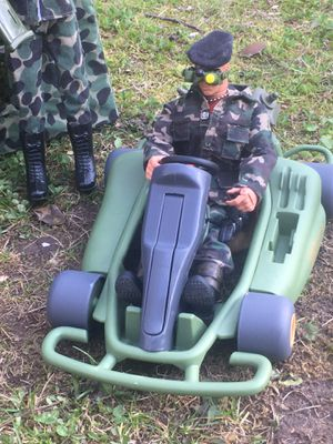 """GI Joe 12"""" Action Figure with buggy $50 for Sale in Toms River, NJ"""