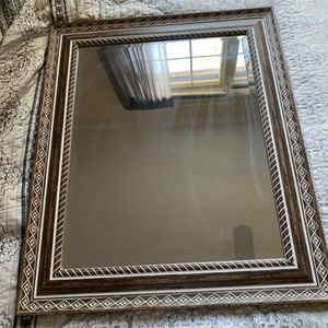 Large Brown and White Mirror for Sale in Irmo, SC