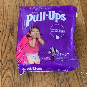 Huggies Pull Ups 2T-3T for Sale in El Segundo, CA
