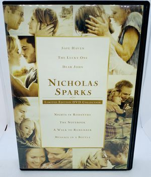 NICHOLAS SPARKS Limited Edition DVD Collection 7 Disc Movie Set HTF OOP for Sale in Puyallup, WA